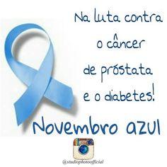 O câncer de próstata é o segundo mais incidente nos homens. Para incentivar os homens da prevenção desta doença foi criada a campanha do Novembro Azul. Nós apoiamos esta causa. Participe você também! #novembroazul #apoiamoestacausa #campanha #homem #câncer #prevenção #studiophotoofficial