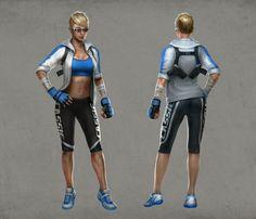 Cassie Alt Concept - Mortal Kombat X