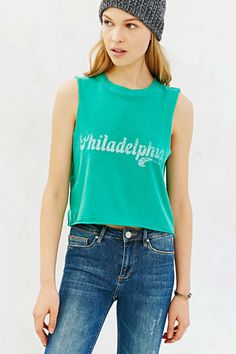 Future State St. Patty's Day Cropped Muscle Tee. Urban Outfitters. $29