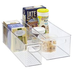 Use these to create divide in bigger drawers or in pantry (can find cheaper option for pantry)
