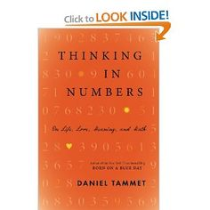 Thinking In Numbers: On Life, Love, Meaning, and Math: Daniel Tammet: 9780316187374: Amazon.com: Books