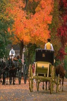 Williamsburg In The Fall