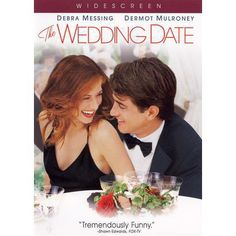 """The Wedding Date - I LOVE Debra Messing & this is one of my favorite """"curl up on the couch with a bowl of popcorn"""" movies. It doesn't hurt that Dermot Mulroney co-stars. Chick Flicks, See Movie, Movie Tv, Movies Showing, Movies And Tv Shows, Dermot Mulroney, Bon Film, Wedding Movies, Wedding Film"""