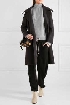 Chloé - Cashmere Turtleneck Sweater - Gray - x small