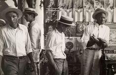 Walker Evans :  People in Downtown Havana  1933