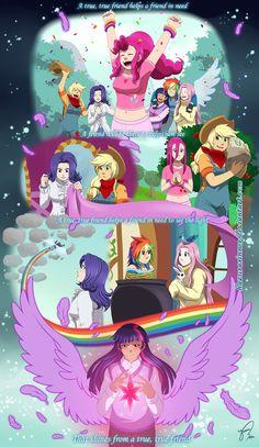 Hazurasinner, My Little Pony, My Little Pony: Friendship Is Magic, Applejack, Fluttershy, Twilight Sparkle