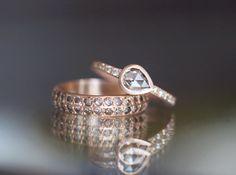 18K Rose Gold with Cognac Diamonds