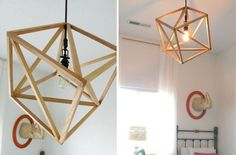 Vintage Cube Pendant Light