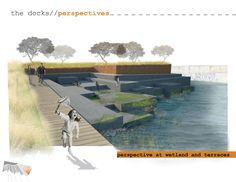rendered wetland park
