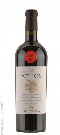 Bollina Corte Medicea 'Athos' Rosso Toscana IGT, Tuscany, Italy