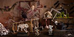 Indoor Halloween Skeleton Decorations