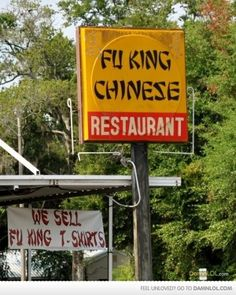 Chinese Restaurant...The name says it all...
