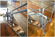Cable Rail Pipe Handrail