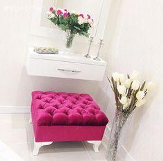 Ayna, Beyaz, Bordo, Çiçekler, Hol