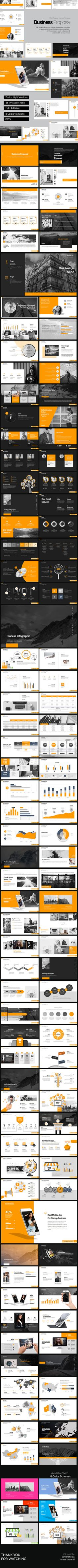 Business Proposal PowerPoint Design Template - PowerPoint Templates Presentation Design Template. Download here: https://graphicriver.net/item/business-proposal-powerpoint-template/19321690?ref=yinkira