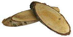 Birkenscheiben oval natur