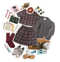 """""""popped ears"""" by abundanceoffreckles ❤ liked on Polyvore featuring art"""