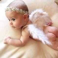 New Baby Girl Fashion Photography Newborn Photos Ideas - Unicorn - bebe So Cute Baby, Cute Kids, Cute Babies, New Baby Girls, Baby Girl Newborn, Baby Girl Baptism, Girl Christening, Baby Baby, Newborn Pictures