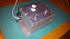 SCR Motor Speed Control Made from Salvaged Parts by Paul Jones - I want to share some photos of a SCR motor speed control made from salvaged parts removed from surplus rack mounted electronics.  In the early 1970