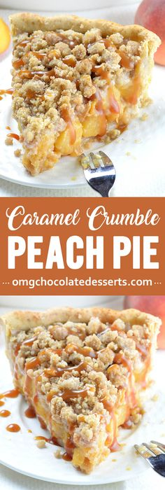 peach cobbler and peach pie got married, this Peach Crumb Pie would be their baby. It tastes just like summer should. peach cobbler and peach pie got married, this Peach Crumb Pie would be their baby. It tastes just like summer should. Peach Crumb Pie, Peach Cobbler Pie, Peach Pies, Köstliche Desserts, Dessert Recipes, Chocolate Desserts, Pie Crumble, Best Pie, Flaky Pastry