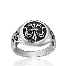 OBSIDIAN - Inel Fleur de lis -http://www.obsidian.ro/magazin/inel-fleu-de-lis-mankind-din-argint/