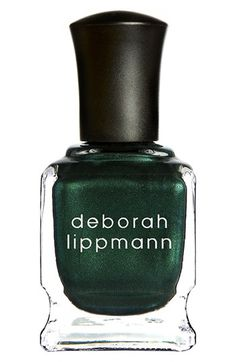 Deborah Lippmann Nail Color perfect for St. Patrick's Day