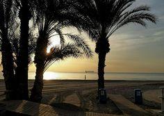 Playa de El Postiguet (Diciembre de 2015) #Alicante #CostaBlanca vía @Alicante_City