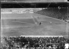 August 26, 1939 It was the first ever televised major league baseball game. The big event was a double-header between the Cincinnati Reds and the Brooklyn Dodgers.   Google Image Result for http://upload.wikimedia.org/wikipedia/commons/thumb/c/c7/Ray_Caldwell_pitching_in_the_first_game_at_Ebbets_Field,_April_5,_1913.jpg/300px-Ray_Caldwell_pitching_in_the_first_game_at_Ebbets_Field,_April_5,_1913.jpg