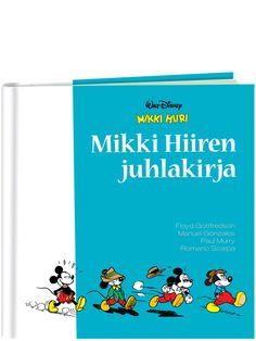Mikki Hiiren juhlakirja Mikki Hiiren juhlakirja juhlistaa 80 vuotta täyttävää Mikkiä klassisilla ja harvoin nähdyillä tarinoilla. Luksusluokan kirja sisältää neljän mestarillisen Mikki-piirtäjän vauhdikkaita ja hauskoja sarjakuvia.