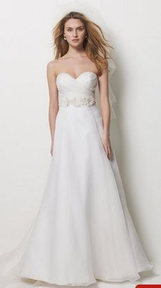 Lovable Princess Wedding Gown with Sweetheart Neckline and Ruching Organza