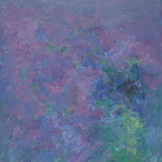 Heinrich Ilmari Rautio: Syreenit - Lilacs,  80x80 cm, Oil on canvas, 2016