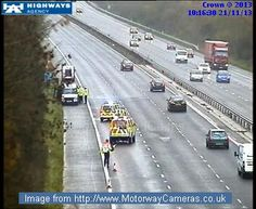 #M4 Eastbound J12 (Reading) - http://Roadca.ms/862 - Recovery services working to clear the accident which has closed two lanes. Normal traffic conditions expected from 11:15am.