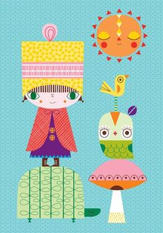 Suzy Ultman - I do so love her work. Her fabric, too.