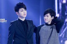 I love when strongJunhoe and tinyJinhwan stay together haha they are so cute ^O^… Kim Hanbin Ikon, Bobby, Haha, Kpop, Songs, My Love, Memes, Cute, Kdrama