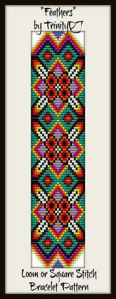 Top Tips, Tricks, And Techniques For Your Perfect loom patterns Indian Beadwork, Native Beadwork, Native American Beadwork, Bead Loom Bracelets, Beaded Bracelet Patterns, Jewelry Patterns, Seed Bead Patterns, Peyote Patterns, Beading Patterns