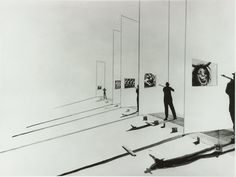 László Moholy-Nagy, The Shooting Gallery, 1925-7 (1973)
