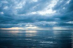 Купить Фотокартина авторская Синее-синее море - темно-синий, фотокартина авторская, природа, море Clouds, Blue, Outdoor, Outdoors, Outdoor Games, Outdoor Living, Cloud