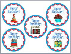 Classroom Freebies Too: Birthday Labels Kindergarten Party, Kindergarten Freebies, Classroom Freebies, Classroom Ideas, Classroom Organization, Classroom Management, Organization Ideas, Classroom Birthday, School Birthday