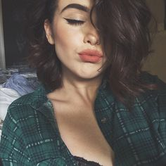 Image about hair in make up by marie m. on We Heart It Skin Makeup, Beauty Makeup, Hair Beauty, Makeup Style, Make Up Looks, Makeup Goals, All Things Beauty, Pretty Face, Makeup Inspiration