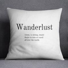 Wanderlust Cushion by Bomedo – Made Modern