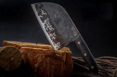 Hunters Serbian Chef Knife Steel Kitchen Handmade Knives Forged High-Carbon New for sale online Best Chefs Knife, Knife Grinder, Cleaver Knife, Hand Forged Knife, Japanese Chef, Japanese Kitchen, Butcher Knife, Professional Kitchen, Handmade Kitchens