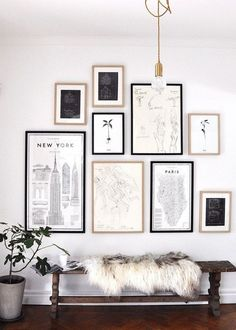 Chairish Blog - Vintage & Used Furniture, Jewelry, - Chairish.com ... Art black and white wall