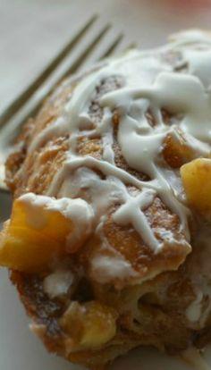 Apple Fritter Breakfast Casserole