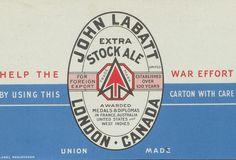 John Labatt Extra Stock Ale by Thomas Fisher Rare Book Library, via Flickr