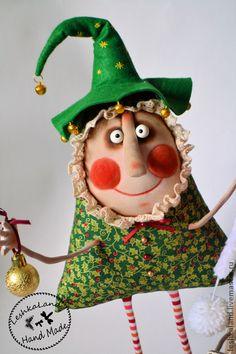 Ароматизированные куклы ручной работы. Happy New Year!!!!!. Лена Лешка. Ярмарка Мастеров. Авторская игрушка, веселый, пряжа