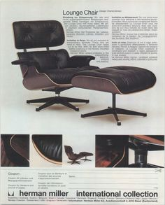 Charles Eames Lounge Chair eames lounge chair and ottoman loungechair 670 hermanmiller