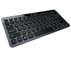 Dustin: Logitech Illuminated K810 - keyboard - Nordic #Demo