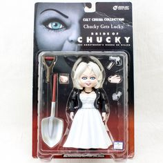 Child's Play Bride of Chucky Tiffany Figure Cult Cinema Collection REDS JAPAN #REDSINC