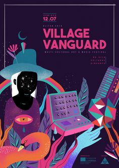 VILLAGE VANGUARD on Behance