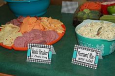 Rock-A-Bye Baby Shower Food